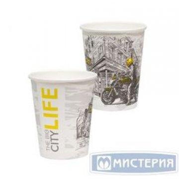 Стакан бумажный  250мл (1000 шт/кор) (Big citi life, 250/D80xD56xH92).