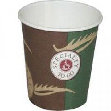 Стакан бумажный 100мл(Кофе, 100/D62*D46*H62)