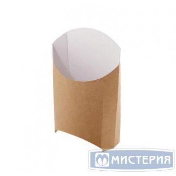 Коробка д/картоф фри ECO FRY M крафт 50х105х110мм 50 шт/упак 1 400 шт/кор