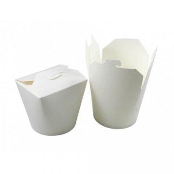 Коробка для лапши (контейнер) China-Pack 750мл, белая 50 шт/уп 500 шт/кор