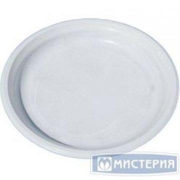 Тарелка d 220мм, бел., ПП 50шт./уп 750 шт./кор