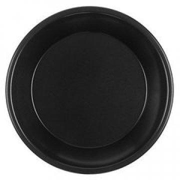 Тарелка d 220мм, чёрн., ПП 50шт/упак 700шт/кор