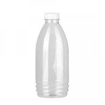 ПЭТ бутылка д/соуса, прозрачн., 1 л с крышкой, широкое горло 70 шт./уп. 70 шт/кор