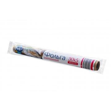 Фольга алюминиевая пищевая Эконом 30см*10м (36) этикетка