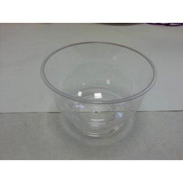 Креманка 200мл, круг. d-95мм, h-70мм, прозрачный, ПС, на ножке 16шт/уп 192 шт/кор