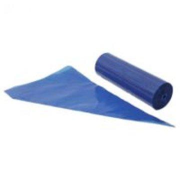 Мешок кондитер. в ролике LDPE,трехсл.,синий,с микрорельефом наружной поверхн. 53см 100шт/уп 10уп/кор