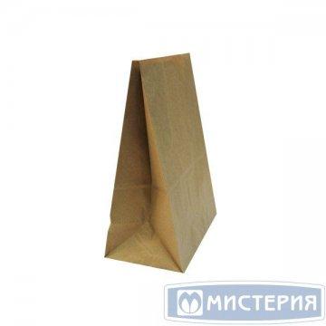 Пакеты на вынос (220+120)х290мм коричн.,50г/м2, крафт бум. б/ручек 1 000 шт./уп 1 000 шт./кор