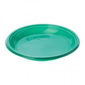 183590/ Тарелка дес., d 170мм, зелен., ПС  12 шт/уп