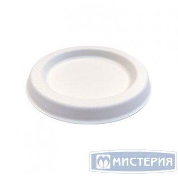 Крышка д/соусника, 60мл, d 67мм, бел., сахарный тростник 100 шт/упак 25 упак/кор.