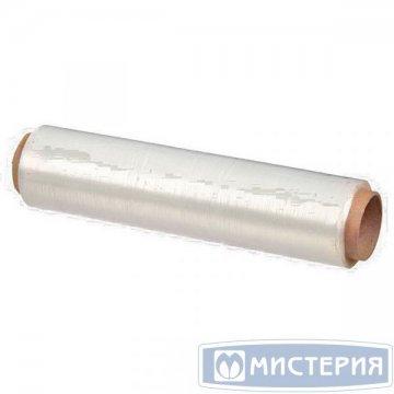 Плёнка упаковочная (стретч)ПЭ для упаковки пищевых продуктов 300мм белая (300130)1 рул/уп 15 рул/кор