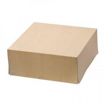 Коробка DoEco 255х255х105мм ECO CAKE 6000, коричн. 75 шт/упак 75 шт/кор