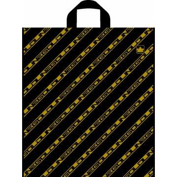 Пакет Золотая полоса NEW ПНД (штрих-код)-пакет петлевой 300шт/кор