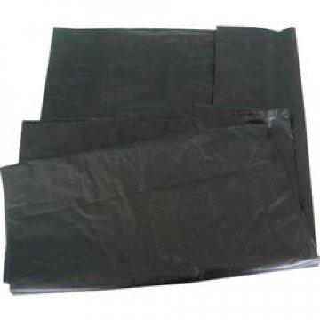 Мешок д/мусора 220л (70+20)х140см 55мкм черный ПВД  50 шт/уп  200 шт/меш