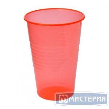 Стакан 200 мл красный (ИнтроПластик 3000/100)
