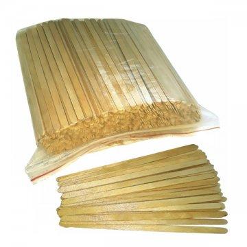 Палочки одноразовые деревянные 140*6*1,3мм. (1уп.х1000шт.) в Zip-пакете (1/24)