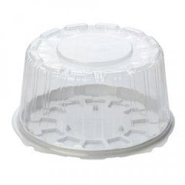Упаковка  торт. 0,5-0,65 кг,внешн. d-200мм, h-106мм, внутр. d-166мм, h-94мм, прозр, ОПС  330 шт/кор