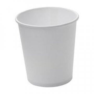 Стакан бумажный однослойный белый для горячего SaaMi 250 мл 1000шт/кор