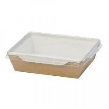 Коробка DoEco 145х95х45мм ECO OpSalad 400, (Салатник), коричн. 400 шт./уп. 400 шт/кор.