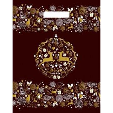 Пакет (мешок) прорубная ручка 31х40см 60мкм, Золотая сказка,  ламин. ПВД 50 шт/уп. 500 шт/кор