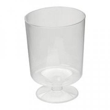 Бокал д/вина, 0.2л, прозрачн., кристалл, ПС 10 шт/уп 540 шт/кор
