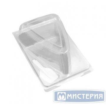 Упаковка д/сегмента торта треуг,внеш. 155х105х85мм,внутр. 120х79х82мм,прозр,ПЭТ 100шт/уп  400шт/кор