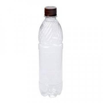 ПЭТ бутылка, прозрачн., 0.5 л с крышкой 135 штук/упак 135 шт/кор