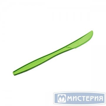 Нож 190мм, зелён., кукурузный крахмал 50 шт/упак. 20 упак/кор