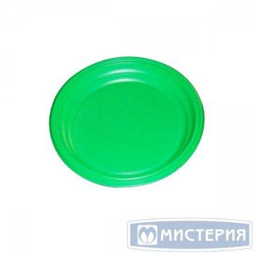 Тарелка d 170мм, зелён., ПС 100 шт/упак. 2 800 шт/кор