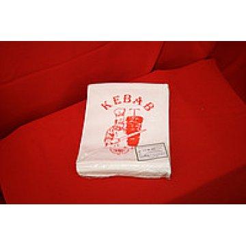 Упаковка бумажная: пакет с печатью KEBAB 15х18см, 1*250шт (30/1)