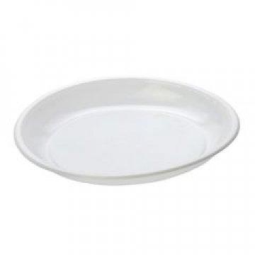Тарелка дес., d 165мм, бел., ПП  50 шт/уп  1400 шт/кор