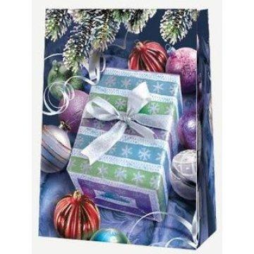 Пакет ламин.Новогодний подарок 30х40х12см, бум. 10 шт./уп. 100 шт /кор