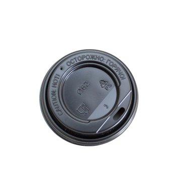 TLS-62 Крышка (Н) (с отверстием для питья) (цвет:черный) (1000шт/кор)
