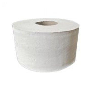 Туалетная бумага рулонная белая 180м 12рул/меш