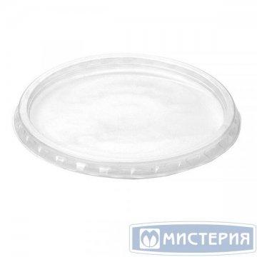 Крышка круглая d=101мм, полупрозрачная ПП NEW 50 шт/уп 1 000 шт./кор