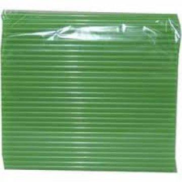 Трубочка полимерная для напитков 8*240 (1кор/20уп/250шт) зеленая