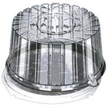 Контейнеры одноразовые пластиковые упаковочные УК-291Н, ПЭТ,коричневая, ПЩ