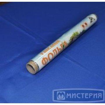 Фольга Универсальная 29смх10м (11 мкм) в плёнке 1рул./уп. 30рул/кор