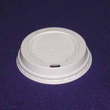 TLS-80 крышка (Н) (с отверстием для питья) (цвет:белый) 1000шт/кор