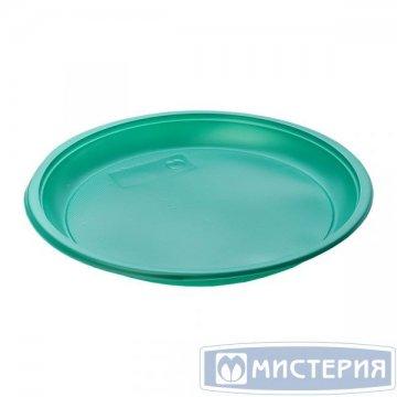 Тарелка d 210мм, зелен., ПС 50 шт/уп 1 200 шт./кор.