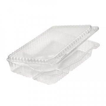 Упаковка для суши (6 ячеек), внеш. 265x193x50мм, прозрачная, ОПС 120 шт./уп. 120 шт./кор.