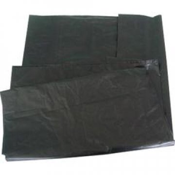 Мешок д/мусора 120л (50+20)x110см 40мкм черный ПВД  50 шт/уп  400 шт/меш