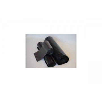 Мешок д/мусора 180л 70(+20)х110см  ПВД черный, 10 шт/рул., 40 мкм 25 рул/кор