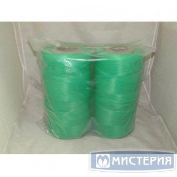 Сетка-рукав в рулоне (500м) зеленая П/П 1 рул /упак 1 рул /кор