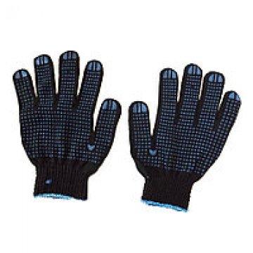 Перчатки рабочие ХБ с покрытием ПВХ пара (арт 52) черные (1х10х300)