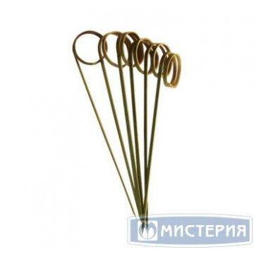 Декоративные пики из бамбука ЗАВИТКИ 90мм 100шт/упак 24 упак/кор AVIORA