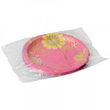 Тарелка d=230мм дизайн Цветочная коллекция 10шт/уп 35уп/кор