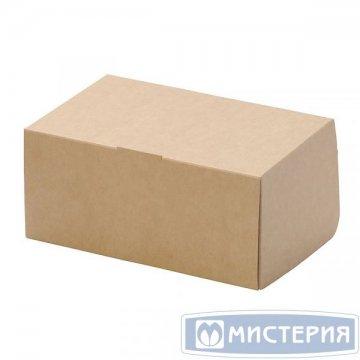 Коробка DoEco 150х100х85мм ECO CAKE 1200, белый 250 шт/уп 250 шт/кор