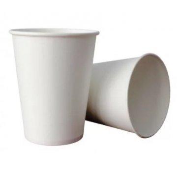 200/250мл Стакан бумажный Белый (50шт/уп) Д80мм (50/1250)