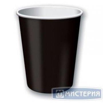 Стакан бумажный 250 мл (1000шт/кор) (Черный)