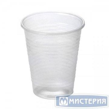 Стакан хол/гор, 0.18л, п/прозрачн., ПП 200 шт/уп 4000шт/кор